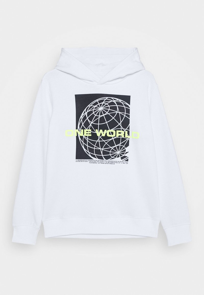 Staccato - HOODIE TEENAGER - Hoodie - white