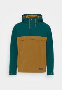 Patagonia - ISTHMUS ANORAK - Hardshell jacket - mulch brown - 4