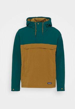 ISTHMUS ANORAK - Hardshell jacket - mulch brown