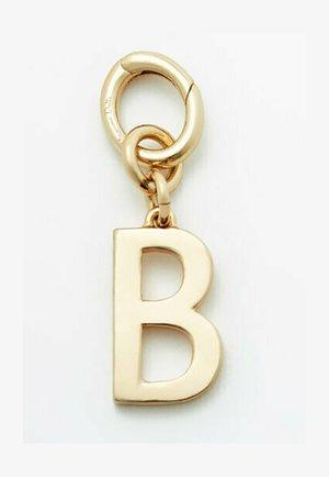 LETTER B - Hanger - gold