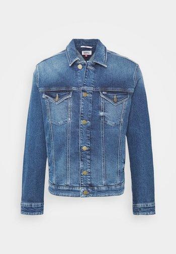 REGULAR TRUCKER  - Denim jacket - barton mid blue comfort