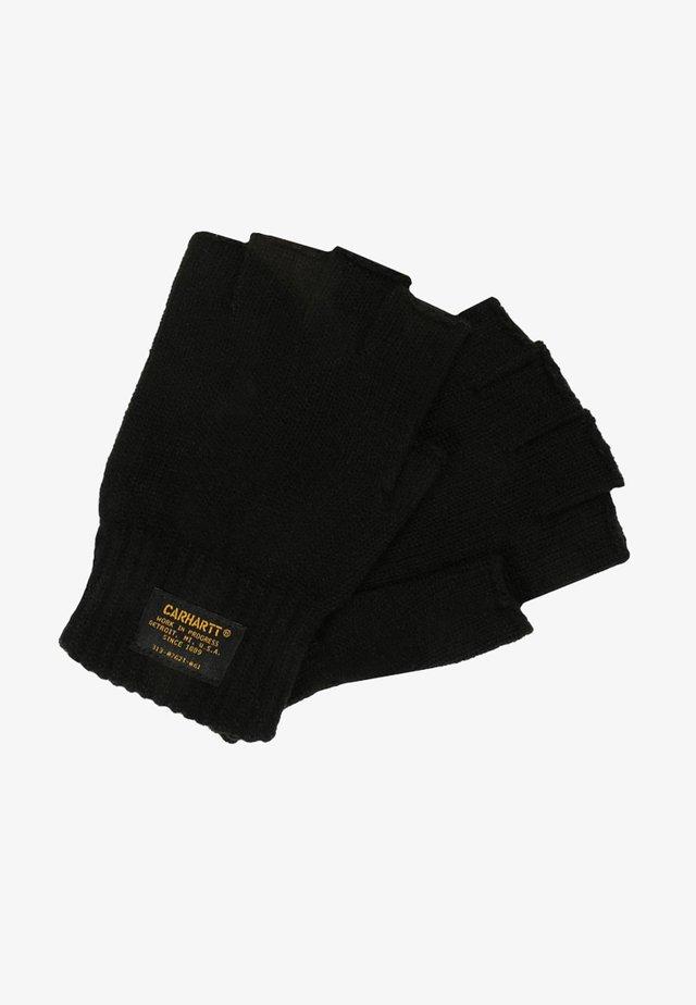 MILITARY MITTEN UNISEX - Fingerless gloves - black