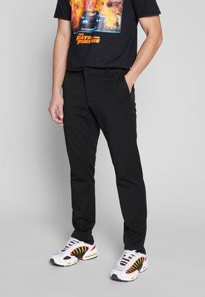 PALO SLIMFIT - Pantaloni - black