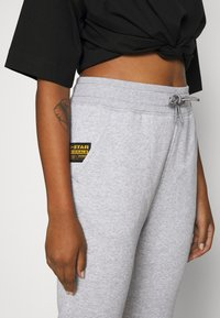 G-Star - PREMIUM CORE TAPERED PANT - Tracksuit bottoms - grey heather - 6