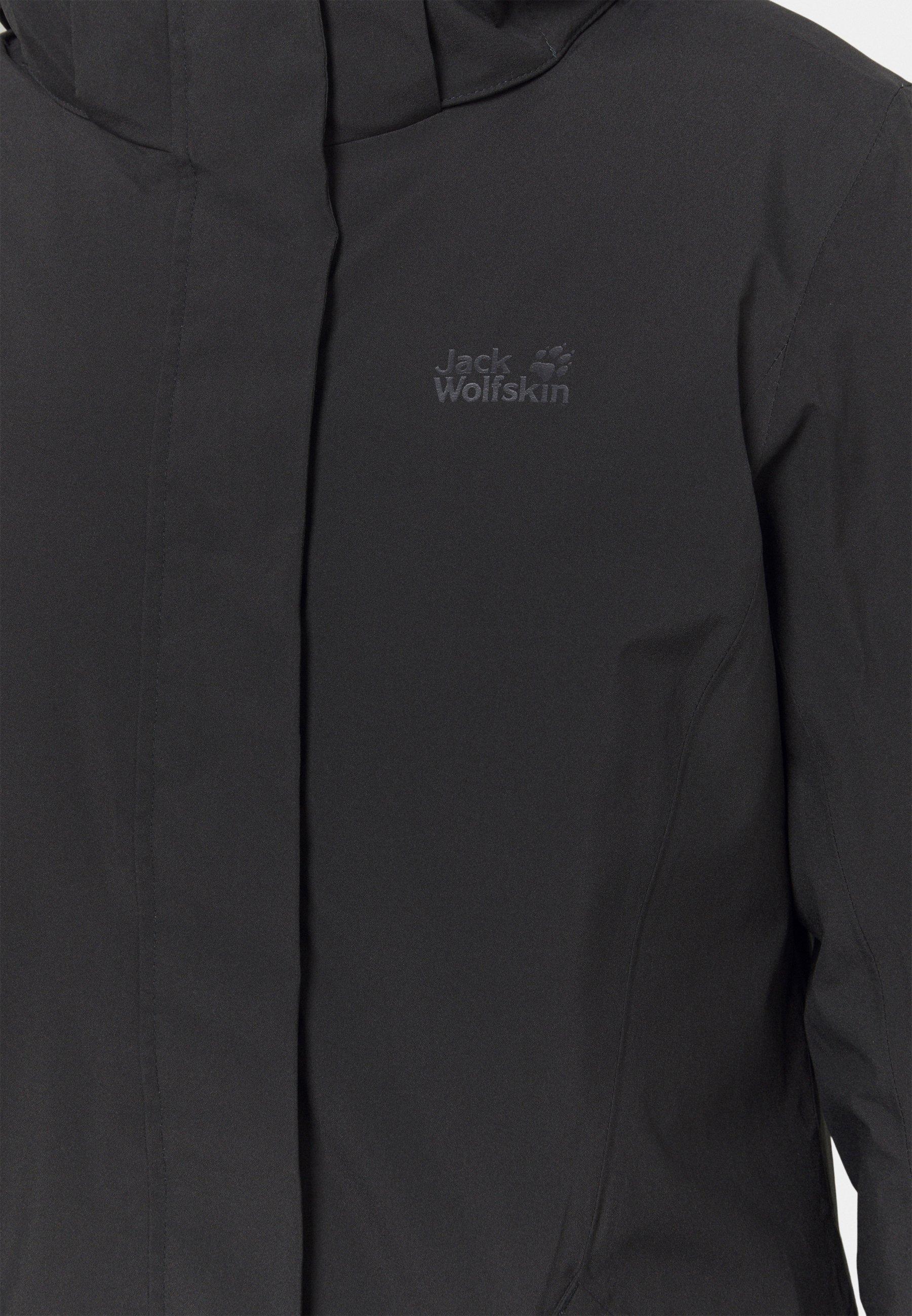 Cool New Styles Women's Clothing Jack Wolfskin COLD BAY COAT Down coat phantom JdZH9EGBo sIWtSaPxM