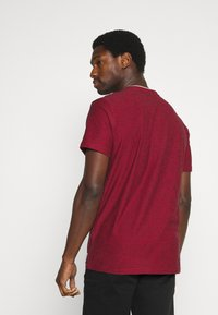 TOM TAILOR - Print T-shirt - power red - 2