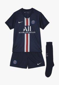 Nike Performance - PARIS ST GERMAIN HOME KIT - Club wear - midnight navy/white - 0