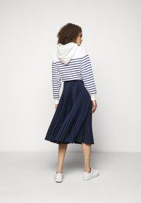 Polo Ralph Lauren - Plisovaná sukně - cruise navy - 2