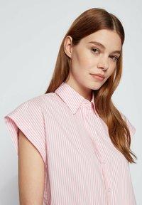 BOSS - BEMIRTA - Button-down blouse - pink - 3