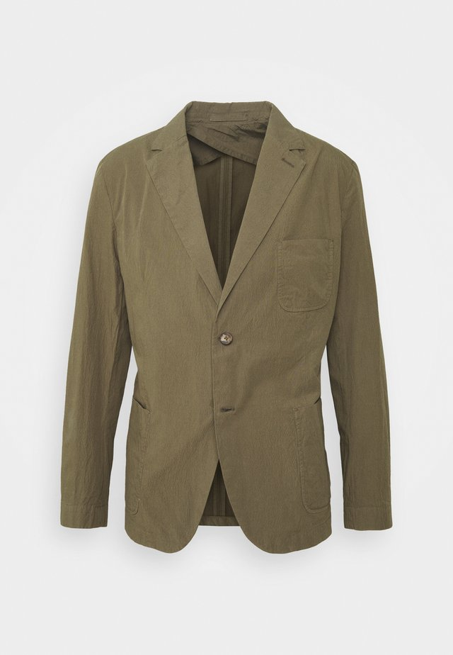DECONSTRUCTED SEERSUCKER - Giacca elegante - military green