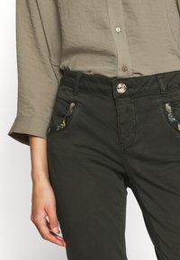 Mos Mosh - JEWEL PANT - Trousers - khaki - 4