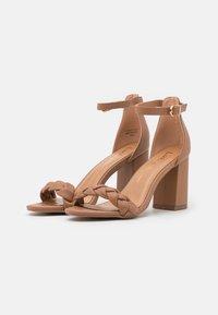 Lulipa London - DEBBIE - High heeled sandals - mocha - 1