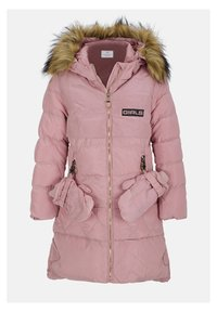 Cipo & Baxx - MIT HANDSCHUHEN - Winter coat - pink - 3