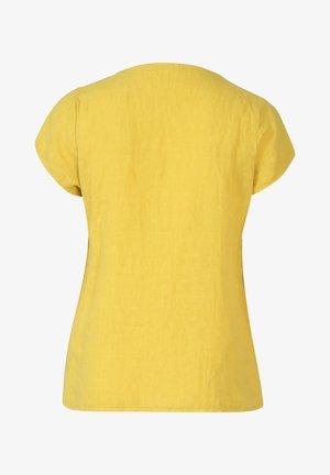 MIT STICKEREIEN - Blouse - yellow
