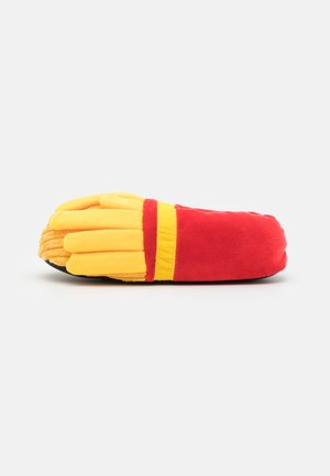 FRIES - Kapcie - yellow/red