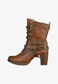 Mustang - Lace-up ankle boots - brown - 0