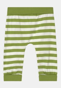 Sense Organics - SJORS BABY UNISEX - Trousers - green stripes - 1