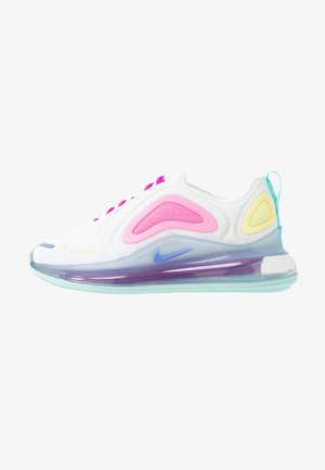 AIR MAX  - Matalavartiset tennarit - white/light aqua/chalk blue/psychic pink/luminous green/hyper violet