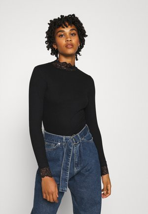 TOELLA - Long sleeved top - black