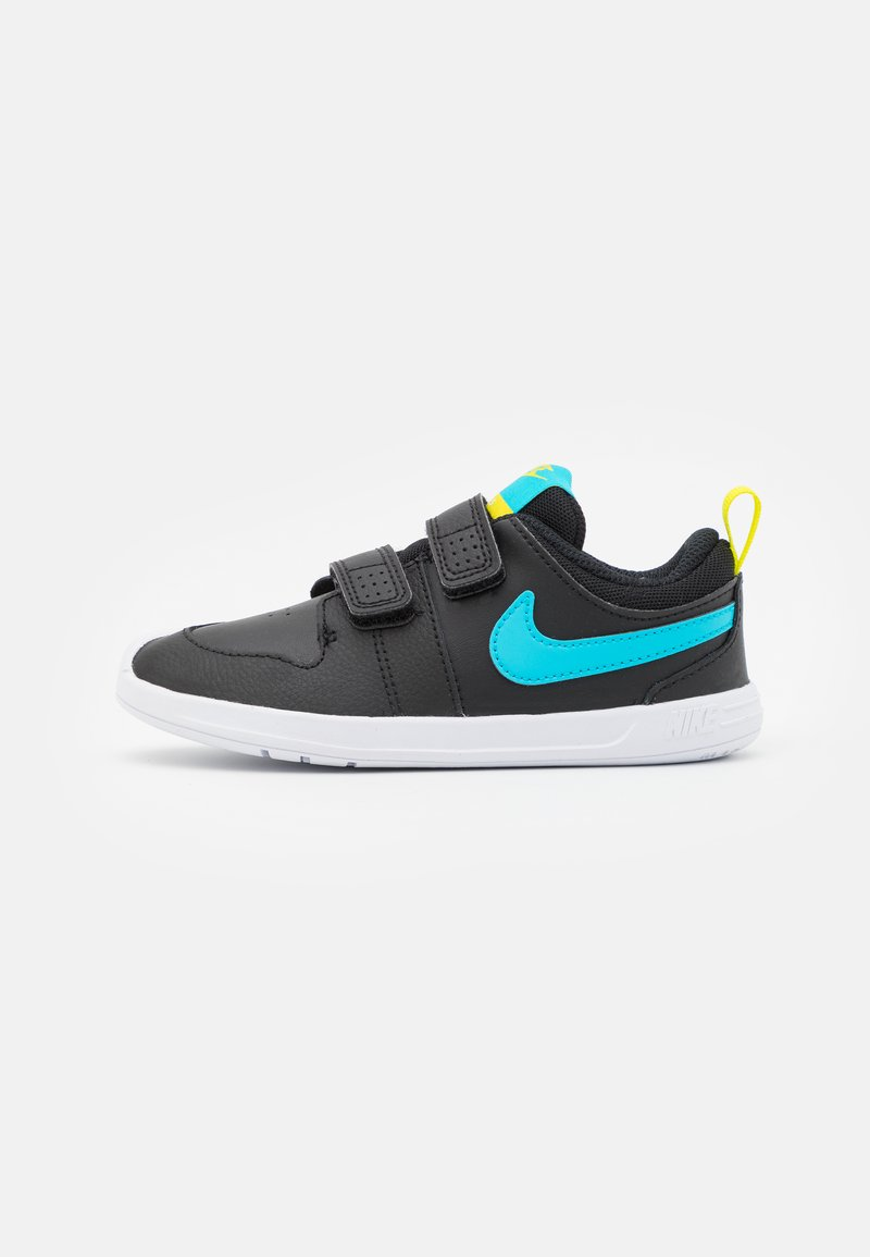 Nike Performance - PICO 5 UNISEX - Sportschoenen - black/chlorine blue/high voltage/white