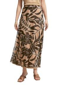 comma - BEDRUCKTER - A-line skirt - sahara leaf - 4