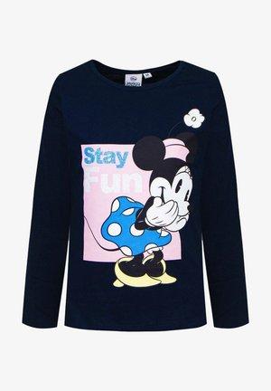Mickey & Minnie - Long sleeved top - dunkel blau