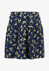 Leon & Harper - JIMBO CHERRY - A-line skirt - navy - 3