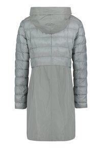 Amber & June - MIT KAPUZE - Winter coat - rauchblau - 4