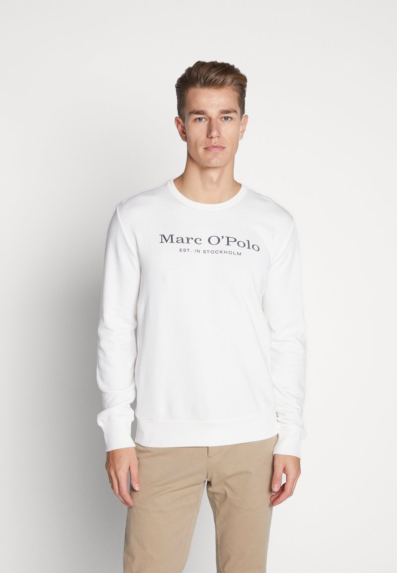Marc O'Polo - CREW NECK - Sweatshirt - egg white