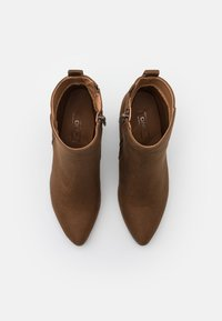 ONLY SHOES - ONLBRODIE LIFE HEELED BOOTIE   - Botki na obcasie - khaki - 5