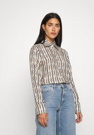CHARLAD - Button-down blouse - ecru