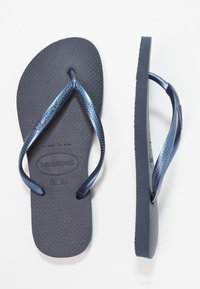 Havaianas - SLIM FIT - Tongs - navy blue - 3