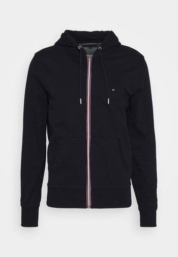 CORE C ZIP HOODIE - Zip-up hoodie - blue