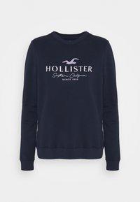 Hollister Co. - SECONDARY TECH CORE CREW - Sweatshirt - navy - 4