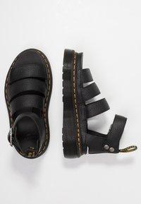 Dr. Martens - CLARISSA QUAD - Platform sandals - black aunt sally - 1
