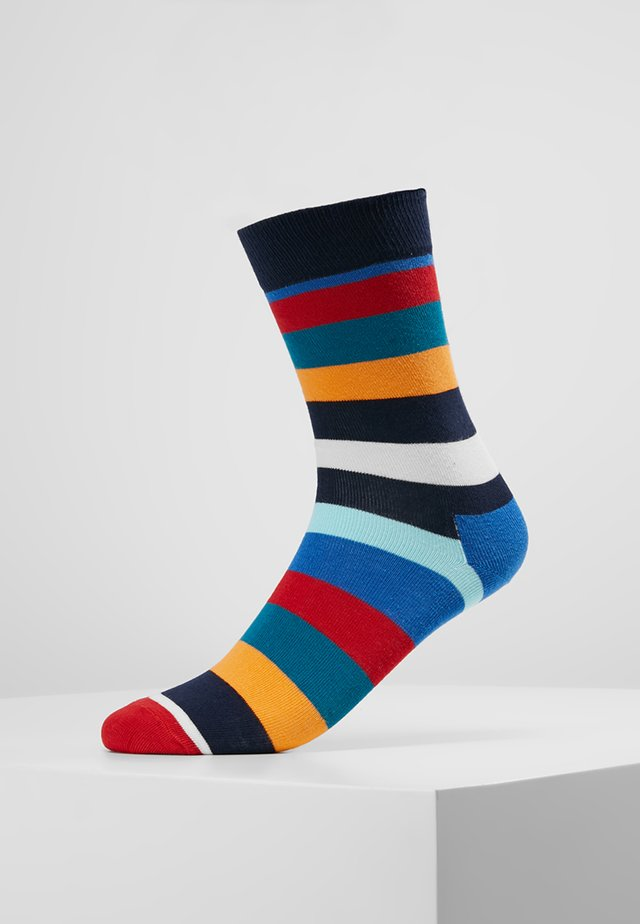 STRIPE - Socks - blau