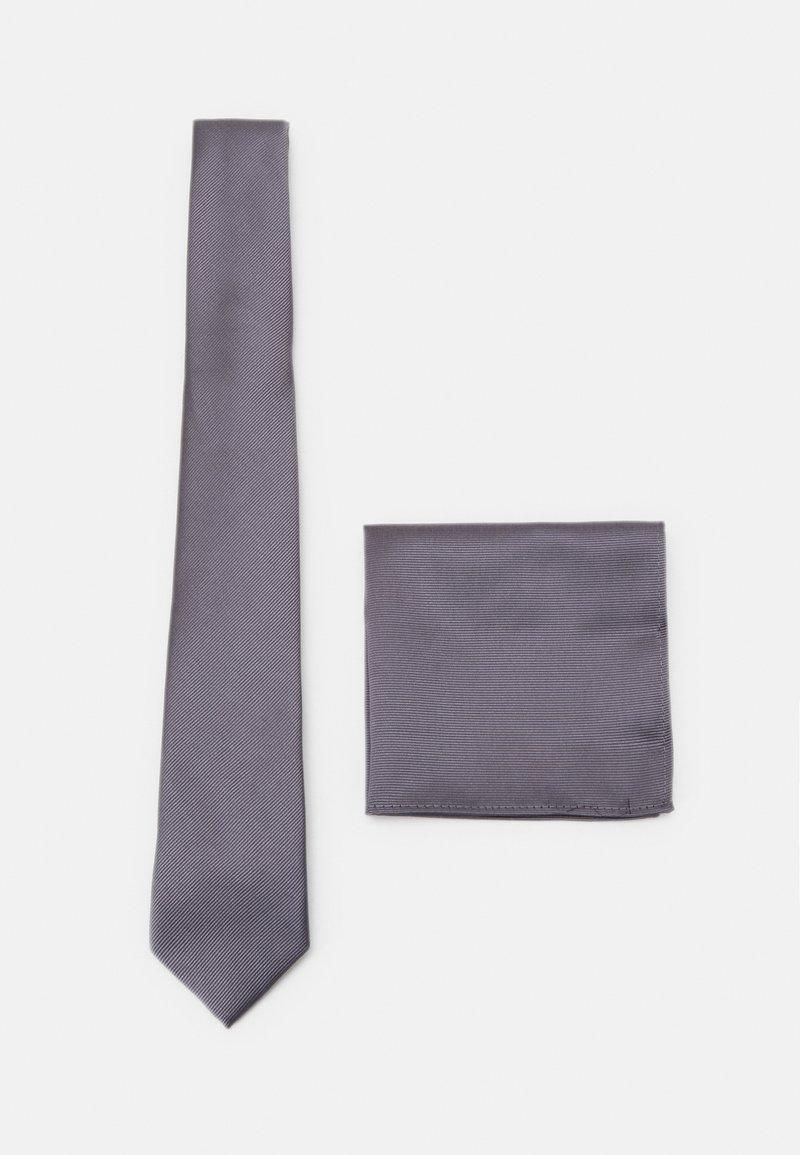 Burton Menswear London - SET - Tie - grey