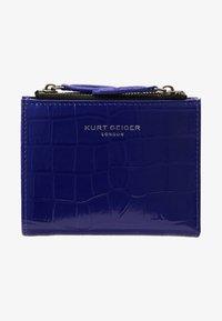 Kurt Geiger London - CROC MINI PURSE - Portefeuille - purple - 1