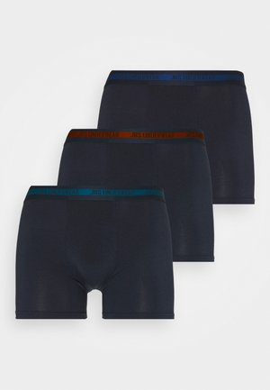 TIGHTS 3 PACK - Pants - dark blue