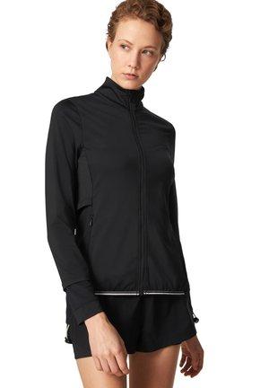 LORAINE - Zip-up hoodie - schwarz
