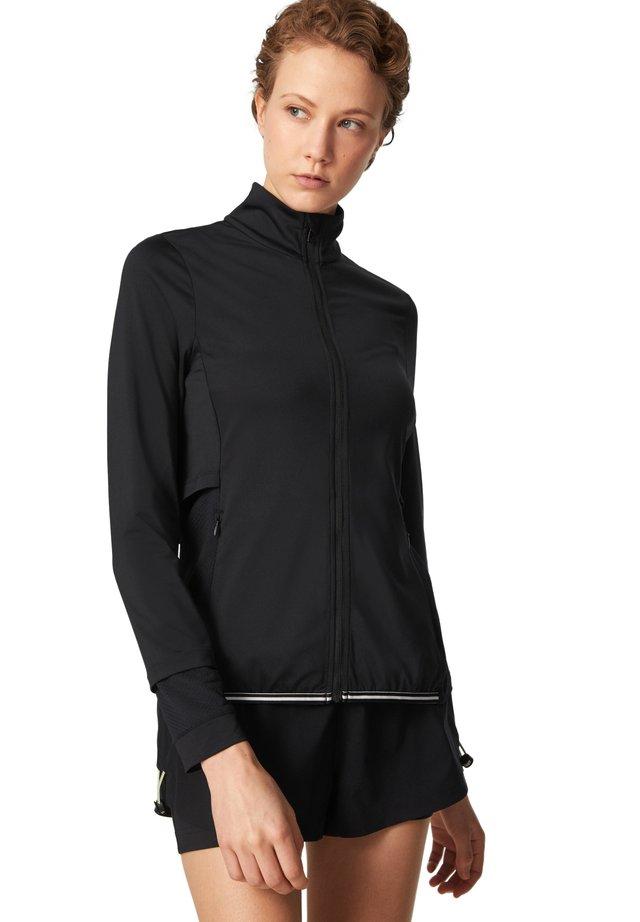 LORAINE - veste en sweat zippée - schwarz