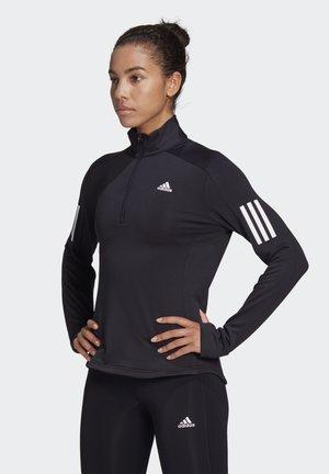 WARM  - Zip-up sweatshirt - black