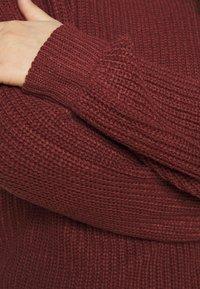 Vero Moda Curve - VMZALEA ONECK - Jumper - madder brown - 5