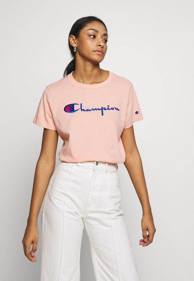 CREWNECK  - T-shirt imprimé - salmon