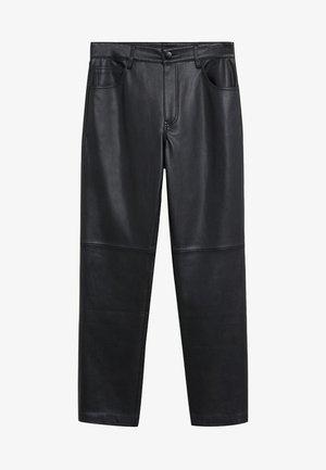 LILLE - Trousers - schwarz