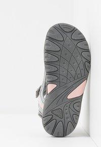 Kappa - RUSHEEN - Sandales de randonnée - light grey/rosé - 5