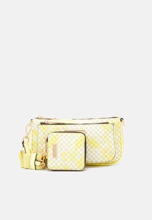 SET - Across body bag - yellow