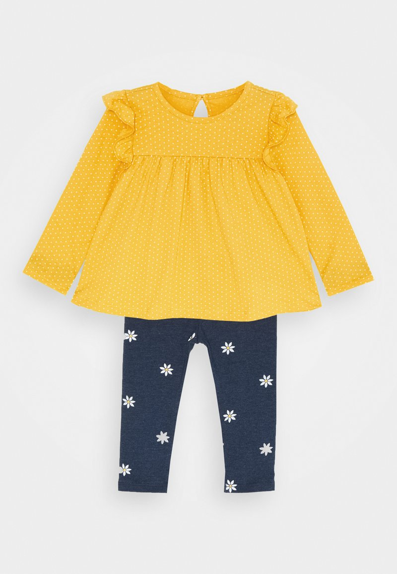 GAP - SET - Legíny - yellow sundown