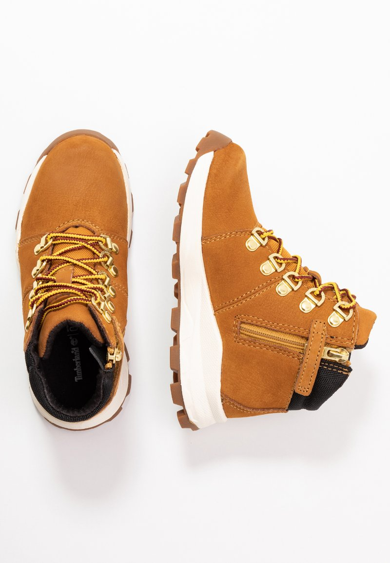 Timberland - BROOKLYN HIKER - Lace-up ankle boots - wheat