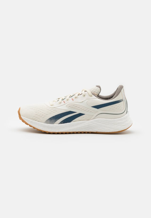 FLOATRIDE ENERGY GROW - Neutral running shoes - classic white/brave blue/boulder grey